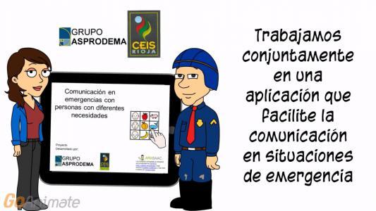 Trabajamos conjuntamente en un comunicadro en situaciones de emergencia