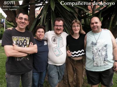Compañeros de Apoyo. Som - fundació tutelar aspanias