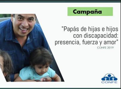 Imagen Campaña de Paternidad Papás de hijas e hijos con Discapacidad: Presencia, Fuerza y Amor.
