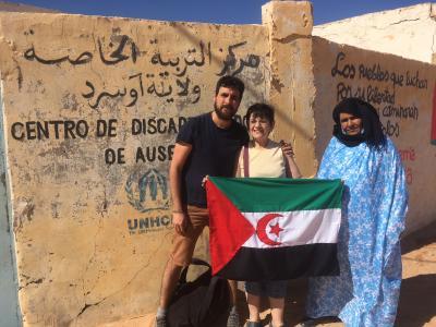 Jacinta Escuela de Educación Especial de Auserd, Campamentos de Refugiados Saharauis