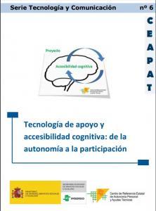 Portada del documento: Tecnología de apoyo y accesibilidad cognitiva
