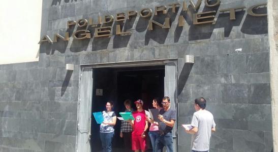 Visita instalaciones Pabellón Ángel Nieto Zamora