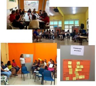 Tejiendo espacios de encuentro comunitario