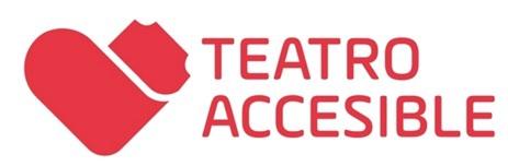 Logo de teatro accesible